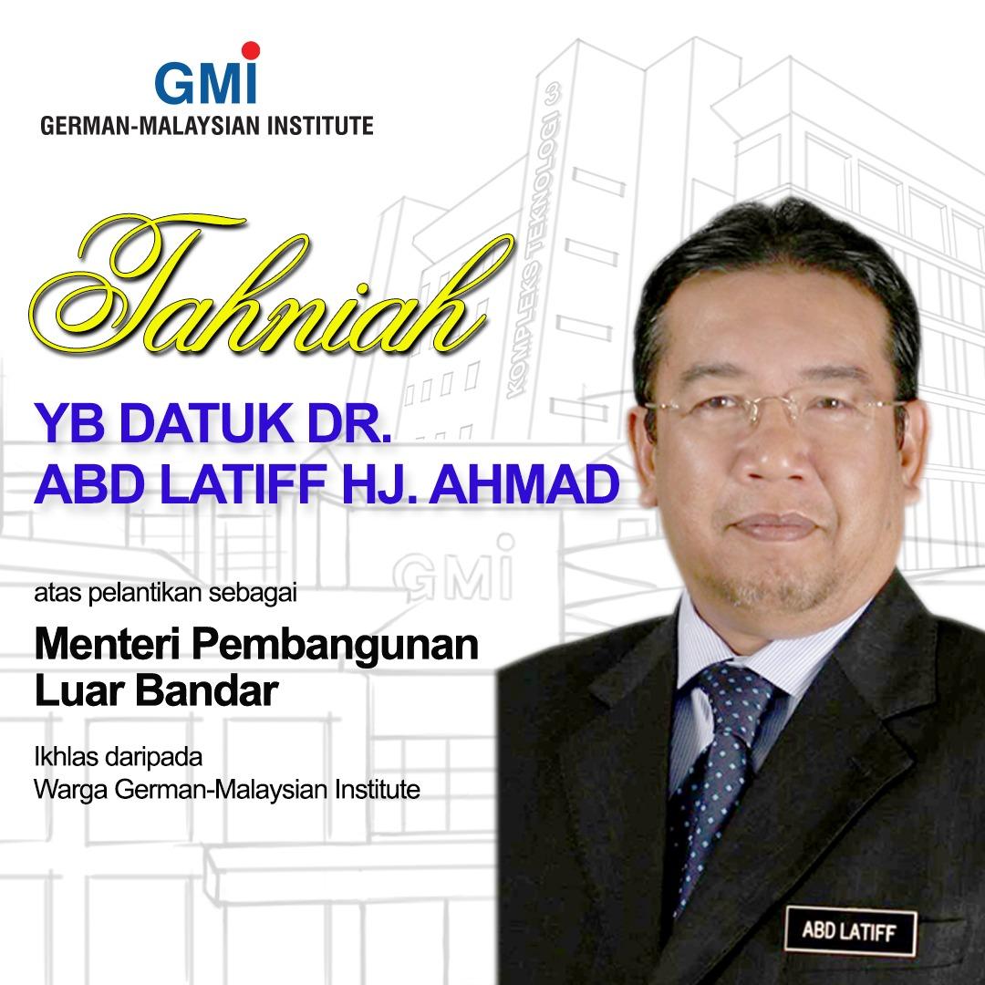 Menteri Pembangunan Luar Bandar 2020
