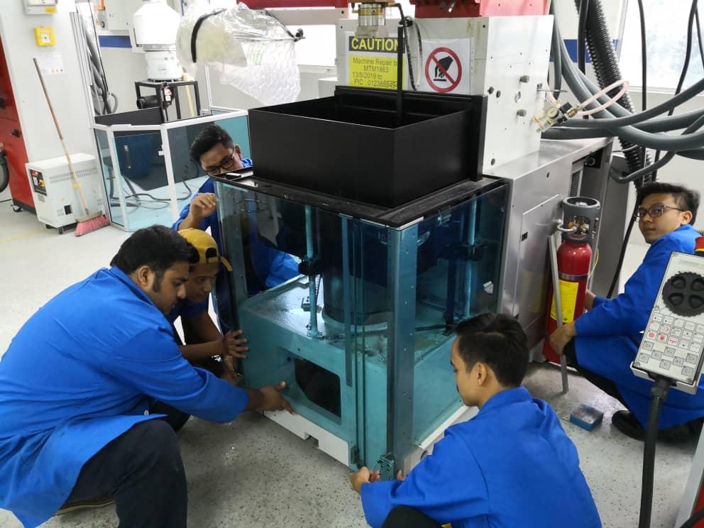 Z&K Die Sinking Machine repair