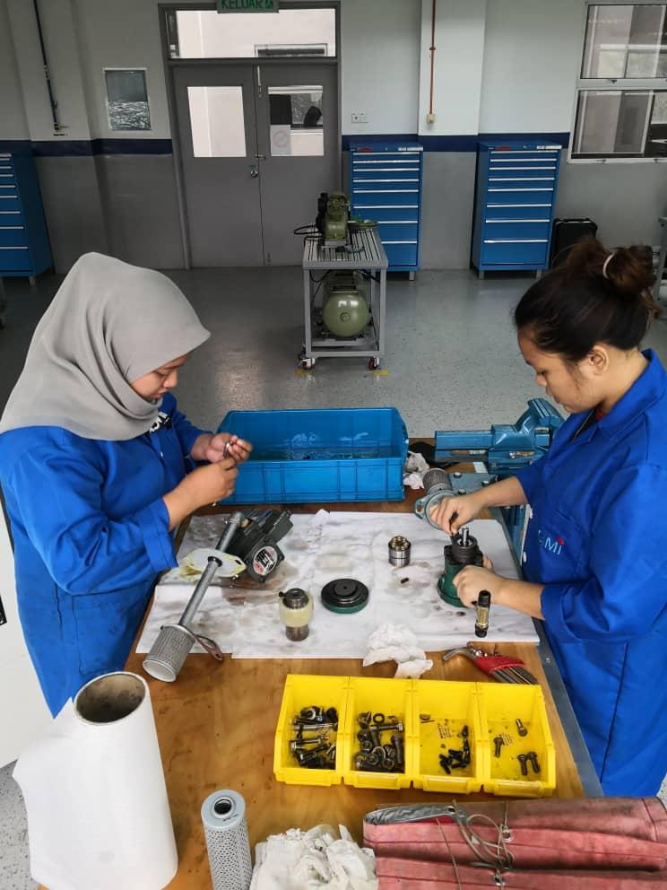 Hydraulic Pump Services