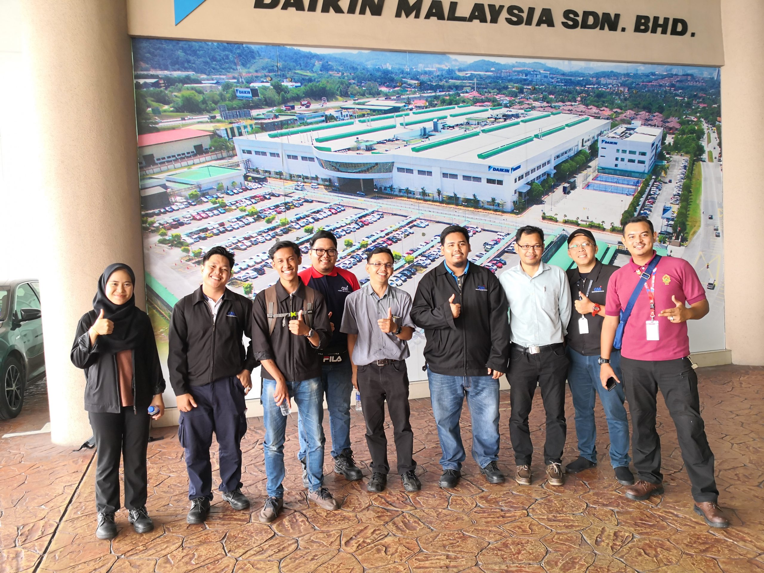 Technical Visit by MTM Student